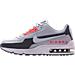 Left view of Men's Nike Air Max LTD 3 Premium Running Shoes in Wolf Grey/Bright Crimson