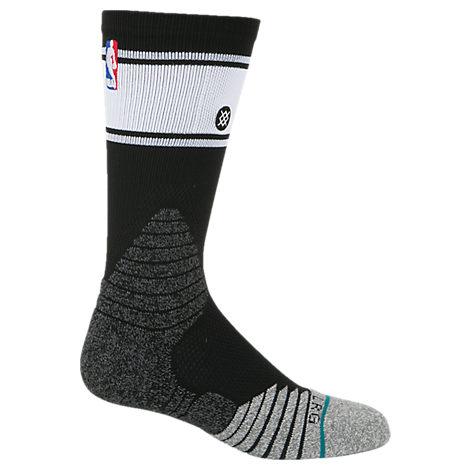 Men's Stance NBA Stripe Bold Crew Socks