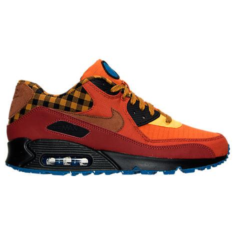 salomon officielle - Men's Nike Air Max 90 Premium Running Shoes| Finish Line