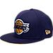 Back view of New Era Los Angeles Lakers NBA Kobe Bryan 20 Years Snapback Hat in Purple
