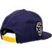 Alternate view of New Era Los Angeles Lakers NBA Kobe Bryan 20 Years Snapback Hat in Purple