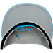 Alternate view of New Era San Antonio Spurs NBA 9FIFTY Snapback Hat in Grey/Teal