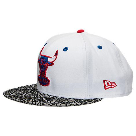 New Era Chicago Bulls NBA Retro 3 OG Hook Snapback Hat