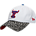 Front view of New Era Chicago Bulls NBA Retro 3 OG Adjustable Hat in White
