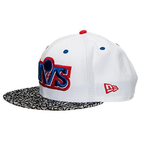 New Era NBA Cleveland Cavaliers Retro 3 OG Hook Snapback Hat