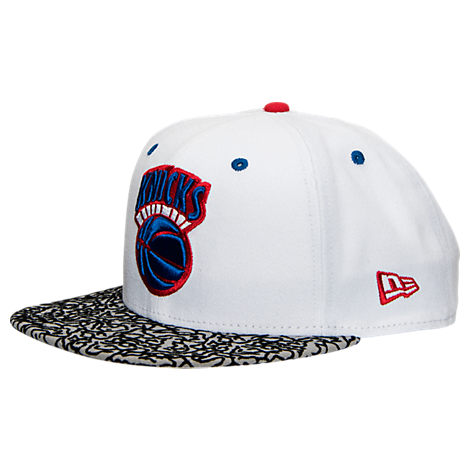 New Era New York Knicks NBA Retro 3 OG Hook Snapback Hat