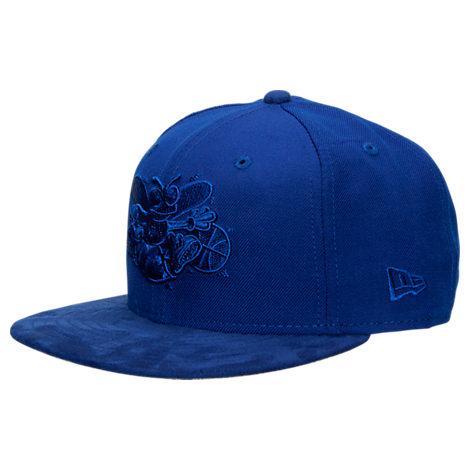 New Era Charlotte Hornets NBA Retro 12 Hook Snapback Hat