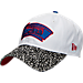Front view of New Era San Antonio Spurs NBA Retro 3 OG Adjustable Hat in White