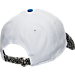 Back view of New Era San Antonio Spurs NBA Retro 3 OG Adjustable Hat in White