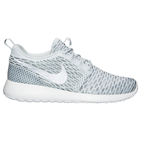 Roshe One Flyknit - Sneaker Low - Pure Platinum/White/Cool Grey