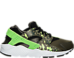 Boys' Grade School Nike Huarache Run Print Running Shoes