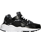Girls' Grade School Nike Huarache Run Print Running Shoes
