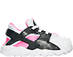 Girls' Toddler Nike Huarache Run Running Shoes