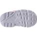 Bottom view of Girls' Toddler Nike Huarache Run Running Shoes in White/Racer Pink