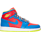Boys' Grade School Air Jordan Retro 1 High Basketball Shoes
