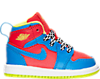 Boys' Toddler Air Jordan Retro 1 High Basketball Shoes