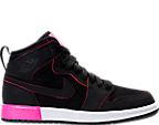 Girls' Preschool Jordan Retro 1 High Basketball Shoes
