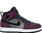 Girls' Preschool Air Jordan Retro 1 High Basketball Shoes