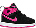 Girls' Toddler Jordan Retro 1 High Basketball Shoes