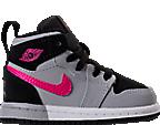 Girls' Toddler Jordan Retro 1 High Basketball Shoes