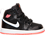 Girls' Toddler Air Jordan Retro 1 High Basketball Shoes