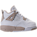 Girls' Toddler Jordan Retro 4 Basketball Shoes Product Image
