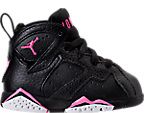 Girls' Toddler Jordan Retro 7 Basketball Shoes