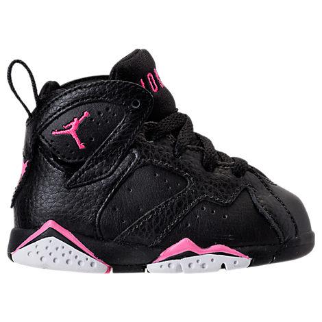Girls' Toddler Jordan Retro 7 Basketball Shoes