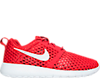 Boys' Grade School Nike Roshe One Flight Weight Breathe Casual Shoes