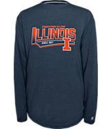 Men's Illinois Fighting Illini College Earn It Long-Sleeve Shirt