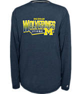 Men's Michigan Wolverines College Earn It Long-Sleeve Shirt