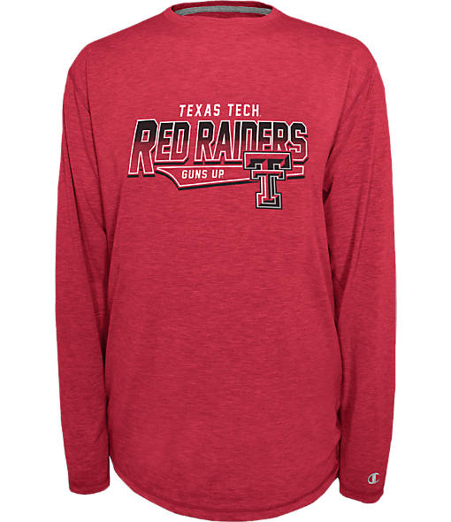 Men's Texas Tech Red Raiders College Earn It Long-Sleeve Shirt