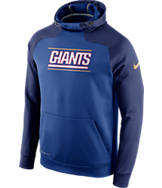 Men's Nike New York Giants NFL Championship Drive Hyperspeed PO Fleece Hoodie