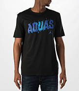 Men's Air Jordan Retro 8 Aqua T-Shirt
