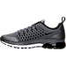 Left view of Men's Nike Air Max Supreme 3 Running Shoes in Dark Grey/Black/Dark Grey