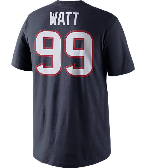 Men's Nike Houston Texans NFL J. J. Watt Name and Number T-Shirt