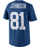 Men's Nike Indianapolis Colts NFL Andre Johnson Name and Number T-Shirt