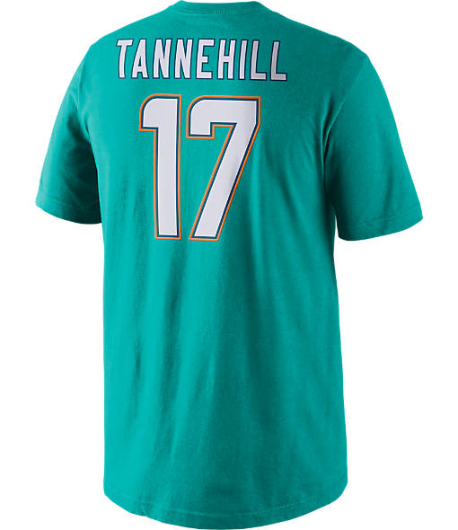Men's Nike Miami Dolphins NFL Ryan Tannehill Name and Number T-Shirt