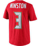 Men's Nike Tampa Bay Buccaneers NFL Jameis Winston Name and Number T-Shirt