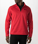Men's Nike KO 1/4 Zip Long-Sleeve Training Shirt