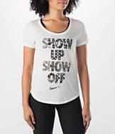 Women's Nike Show Up V-Neck T-Shirt