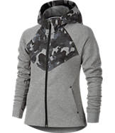 Girls' Nike Tech Fleece Windrunner Full-Zip Hoodie