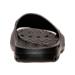Back view of Men's Jordan Super.Fly Team Slide Sandals in Black/White