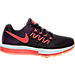 Right view of Women's Nike Zoom Vomero 10 Running Shoes in Vivid Purple/Bright Crimson/Black