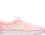 Girls' Grade School Nike Toki Low Canvas Print Casual Shoes