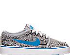 Boys' Grade School Nike Toki Low Canvas Print Casual Shoes