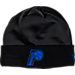 Front view of New Era Indiana Pacers NBA Space Jam Knit Hat in Black