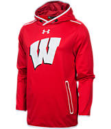 Men's Under Armour Wisconsin Badgers College Streamline Hoodie