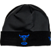 Front view of New Era Chicago Bulls NBA Space Jam Knit Hat in Black