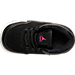 Top view of Girls' Toddler Jordan Flight Origin 2 Basketball Shoes in Black/Hyper Pink/White